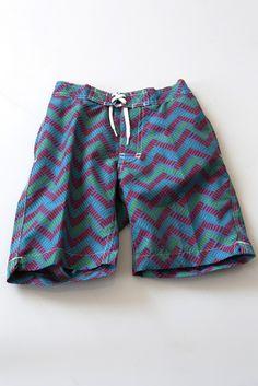multi-color swami swim shorts