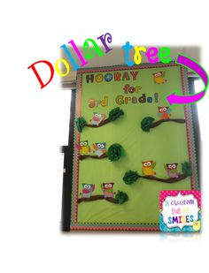 Cheap Classroom Bulletin Boards {Dollar Tree Tablecloths!!}