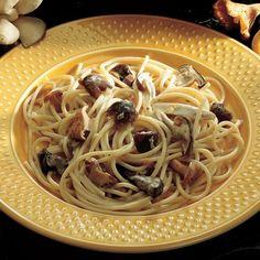 Recipe for Pasta With Mushroom Ragù : La Cucina Italiana