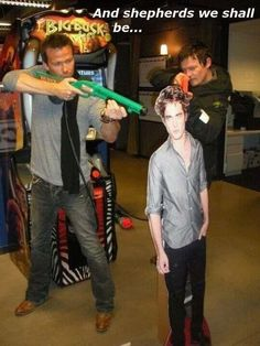 Boondock Saints Vs. Edward Cullen EPIC WIN