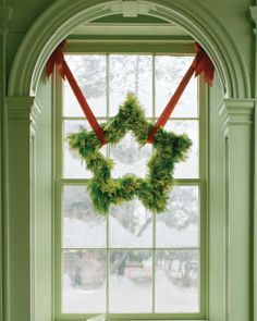 Star Shaped Wreath How-To