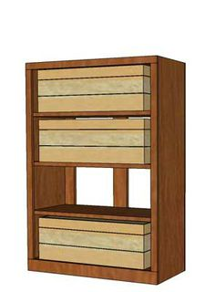 "Mahogany Premium Series Wooden Case Bin Base Rack from WineRacks.com on sale for 178.20.   Dimensions: 27 3/4"" wide x 39"" high x 12 3/8"" deep  Capacity: 48 Bottles Available in: Mahogany  Designed to be used alone or with our Upper racks, this rack is constructed of real wood veneer plywood with no stain/finish and will hold wooden wine cases.  Rack is shipped knocked down in flat pieces. Some simple assembly required"