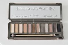 The Small Things Blog: Naked 2 Palette: Warm and Shimmery Eye