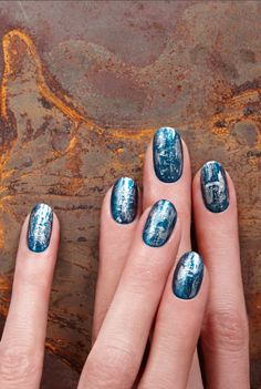 JASPER JOHN'S INSPIRED NAIL ART by JINsoon. Read how to get this look on the #TheBeautyBoard> #Sephora #nailspotting #nailpolish