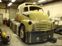 """Epicness in the making....Custom Built 1950 C.O.E.  75% Complete, up for auction """"As-Is"""" on EBay..."""