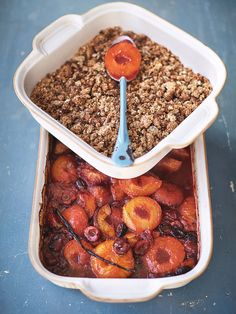 Roasted stone fruit | Fruit recipes | Jamie Oliver recipes