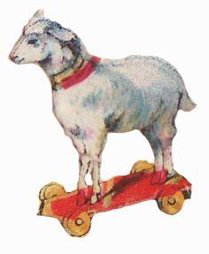 Sentimentalia - Victorian Stickers ~ Glansbilleder > Toys ~ Legetøj