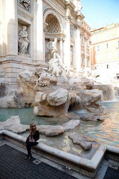 Fontana di Trevi, Rome, Italy