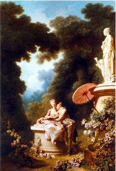 Progress of Love .. Fragonard Panels for Madame DuBarry