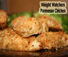Weight Watchers Parmesan Chicken - the picture claims WW recipe, but doesn't list any information to determine points.