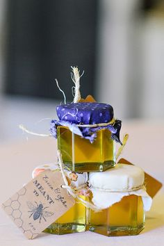 honey favors, photo by Blush Photography http://ruffledblog.com/sundance-resort-wedding #weddingfavors