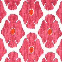 John Robshaw Textiles - Poppy Lotus - Handprinted Linens - Fabric