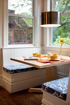 Cozy kitchen nook! [ Vacupack.com ] #home #quality #fresh