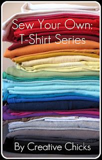 Sew your Own T-Shirts Series -  GREAT info and photos on all aspects of sewing tees