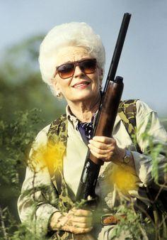 Ann Richards, former Governor of Texas