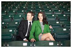 Shea Mitchell & Julien R. Leparoux's engagement photos at Keeneland.