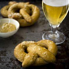 whole-wheat soft pretzels