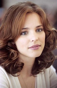 hair colors, girl crushes, long hairstyles, the notebook, actress, brown hair, medium hairstyles, rachel mcadams, curly hair