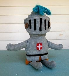 Stuffed knight