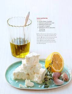 lemon feta dip