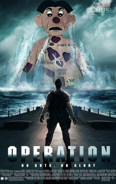 Battleship isn't the only childhood game to be able to make a badass movie: don't get operated on!