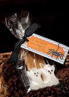 Halloween S'mores Teacher Gift & Printable