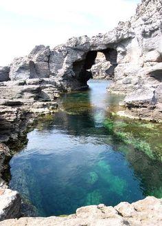 Isola Sant'Antioco, in the Sardinia region of Italy