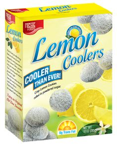 Not as delicious as the originally Sunshine Lemon Coolers, but they satisfy my lemon cookie hankerings.