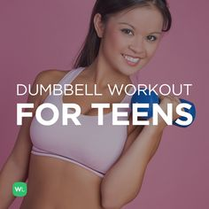 Visit http://WorkoutLabs.com/workout-plans/full-body-dumbbell-workout-for-teens/for a FREE PDF of this Full Body Dumbbell Workout for Teens