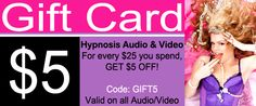 Stock up and SAVE this weekend! Get $5 OFF every $25 you spend on Forced Feminization Audio & Video.  http://shop.studiojezebel.com/main.sc