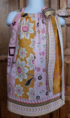 Dollhouse Pillowcase Dress Collection  by Doodlebugs and Drumsticks