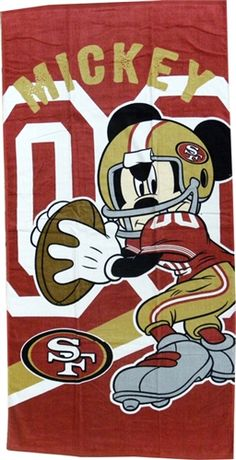 Mickey Mouse Disney  49ers #sf 49ers #49ers #niners #football