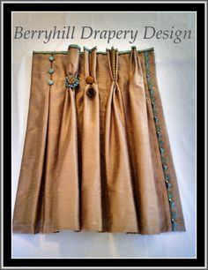 Drapery pleat options