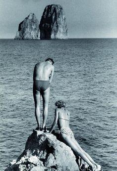 // capri, 1951 Herbert List