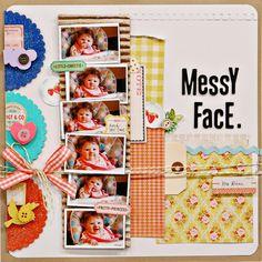 Messy Face by Jen Jockisch
