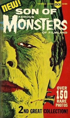Son of Famous Monsters paperback book - James Bama cover