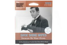 The Spoon Sisters Decent Man's Shoe Shine Wipes