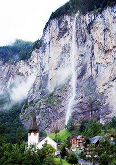 Staubbach Falls, Switzerland