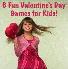 6 Fun Valentine's Day Games for Kids! ~ at TheFrugalGirls.com #valentine #game #thefrugalgirls