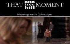 When Logan Calls Quinn Mom [That OTH Moment]