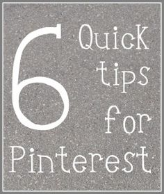 Tips for Using Pinterest