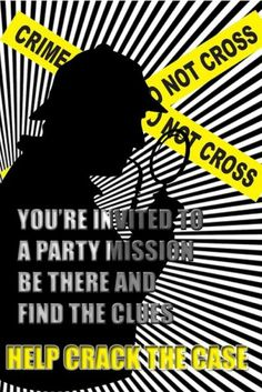 Setting Up a Murder Mystery Birthday Party #party #birthday #decoration #cakes #favors #themedbirthday #games #printable #quotes #invitation #sayings #birthdaypartyideas #bpartyideas #mystery