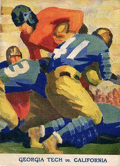 1929 Rose Bowl Program Cover.