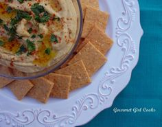 Gourmet Girl Cooks: Chipotle Cheddar Crackers - Low Carb, Grain & Glut...