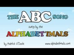 FUN read aloud ABC book, with animal sounds and words for each letter! Alphabet Animals - Alphabetimals - The ABC Song