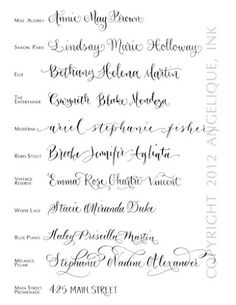 calligraphy. For future tattoo?