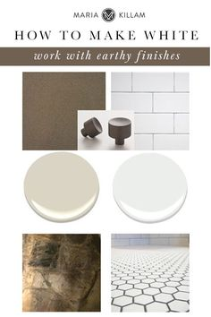 Can you paint your walls white even though you have earthy finishes?  3 Ways to Make White Walls (even art gallery white) Work with Your Earthy Finishes. #white #whitewalls #edesign #interiordesign