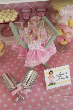 Cute pink baby shower ideas - themes
