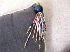 diy paper beads.