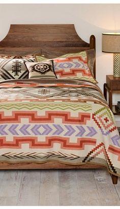 Santa Fe Saxony Blanket Collection